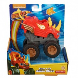 Blaze and the Monster Machines Slam & Go Rhino Blaze