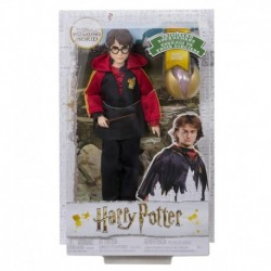 Harry Potter Collectible Triwizard Tournament Doll with Wand and Gold Egg Accessory