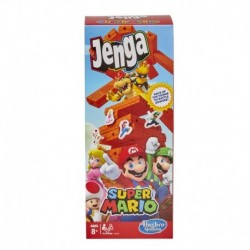 Jenga: Super Mario Edition Block Stacking Game