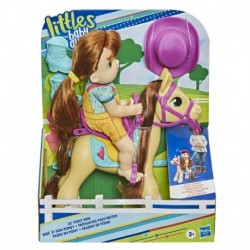 Baby Alive Lil' Pony Ride, Little Mandy Doll and Pony with Push-Stick