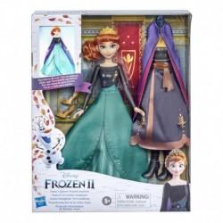 Disney Frozen 2 Anna's Queen Transformation Fashion Doll