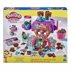 Play-Doh Kitchen Creations Candy Delight Playset with 5 Non-Toxic Play-Doh Cans