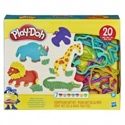 Play-Doh Makin' Animals Kit with 7 Non-Toxic Play-Doh Colors