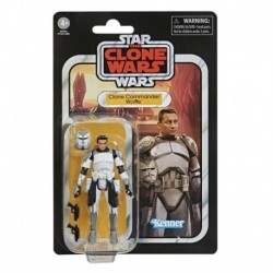 Star Wars The Vintage Collection Clone Commander Wolffe Figure