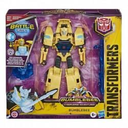 Transformers Bumblebee Cyberverse Adventures Battle Call Trooper Class Bumblebee Action Figure