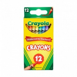 Crayola Classic Color Crayons 12 Colors