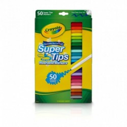 Crayola 50 Colors Super Tips Washable Marker