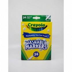Crayola 24 Color Fine Line Washable Marker