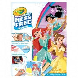 Crayola Color Wonder Mess Free Princess Coloring Pages & Markers