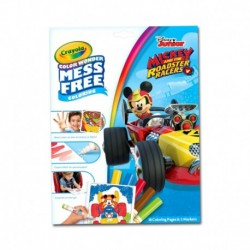 Crayola Color Wonder Mess Free Mickey Roadster Racers Coloring Pages & Markers