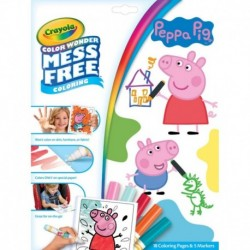Crayola Color Wonder Mess Free Peppa Pig Coloring Set