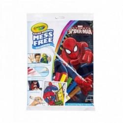 Crayola Color Wonder Mess Free Spider Man