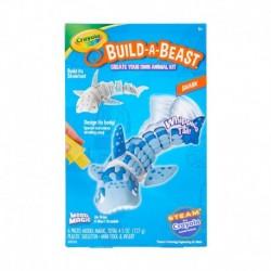 Crayola Build A Beast Shark Craft Kit