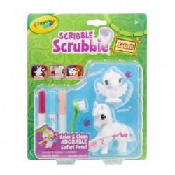 Crayola Scribble Scrubbie Safari Animals, Bird & Zebra, 2 Count