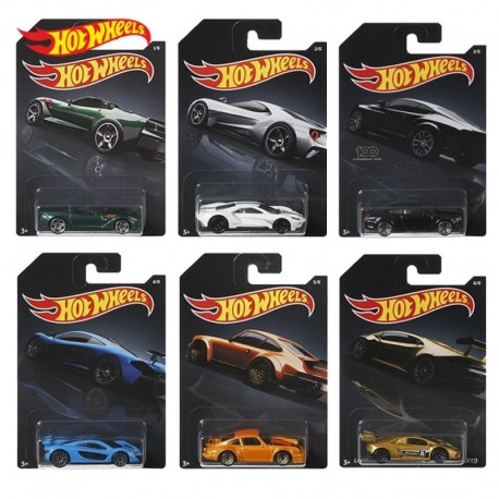Hot Wheels Themed Automotive Complete Box of 10 - Dash H