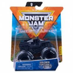 Monster Jam 1:64 Single Pack - Soldier of Fortune Black Ops