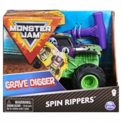 Monster Jam 1:43 Rev N Roar Trucks - Grave Digger 2.0