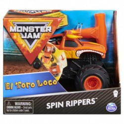 Monster Jam 1:43 Rev N Roar Trucks - El Toro Loco