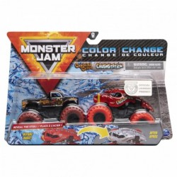 Monster Jam 1:64 2 Packs Double Down Showdown - Captains Curse vs. Cush Station