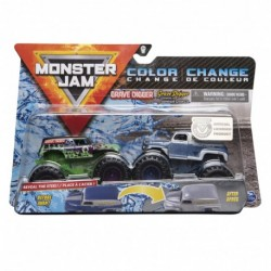 Monster Jam 1:64 2 Packs Double Down Showdown - Grave Digger vs. Grave Digger Chesapeake