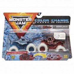 Monster Jam 1:64 2 Packs Double Down Showdown - Megalodon vs. Octon8er