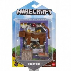Minecraft Comic Maker Tabby Cat Action Figure