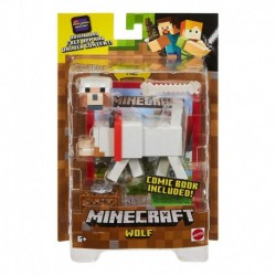 Minecraft Comic Maker Wolf Action Figure