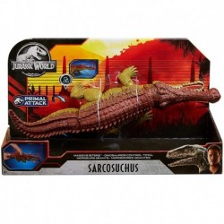 Jurassic World Massive Biters Sarcosuchus Larger-Sized Dinosaur Action Figure