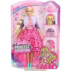 Barbie Princess Adventure Doll in Princess Fashion