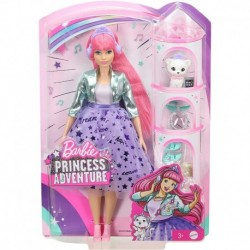 Barbie Princess Adventure Daisy Doll in Princess Fashion with Pet