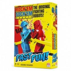 Mattel Games Fast Fun Rock Em Sock Em Robots