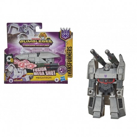 Transformers Bumblebee Cyberverse Adventures Action Attackers: 1-Step Changer Megatron Figure