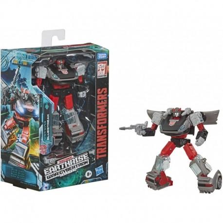 Transformers Toys Generations War for Cybertron: Earthrise Deluxe WFC-E32 Bluestreak Figure
