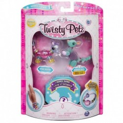 Twisty Petz Pixie Mouse, Radiant Roo and Surprise Collectible