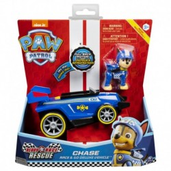 Paw Patrol Themed Vehicle Ready Race Rescue - Chase
