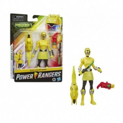 Power Rangers Beast Morphers Beast-X Yellow Ranger 6-inch Action Figure