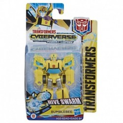 Transformers Bumblebee Cyberverse Adventures Action Attackers Scout Class Bumblebee Action Figure - Hive Swarm Action Attack