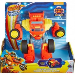 Blaze and the Monster Machines Transforming Robot Rider Blaze