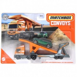 Matchbox Convoys MBX Cabover with Auto Transport Trailer & 2011 Mini Countryman