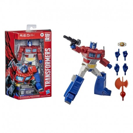 Transformers R.E.D. [Robot Enhanced Design] The Transformers G1 Optimus Prime, Non-Converting Figure