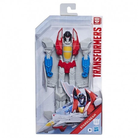 Transformers Toys Titan Changers Starscream Action Figure