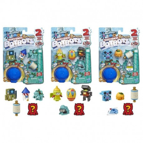 Transformers Toys BotBots Series 4 Home Rangers 5-Pack - Mystery 2-In-1 Collectible Figures