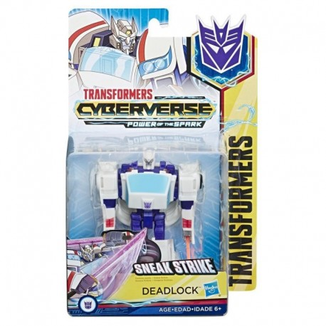Transformers Toys Cyberverse Action Attackers Warrior Class Deadlock Action Figure