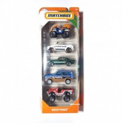 Matchbox Cars 5 Packs Rocky Peaks