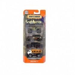 Matchbox Cars 5 Packs MBX Wild II