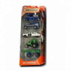Matchbox Cars 5 Packs MBX Countryside