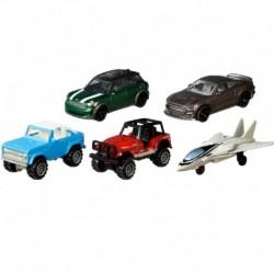 Matchbox Cars 5 Packs Top Gun Maverick (Version 1)