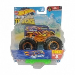 Hot Wheels Dairy Delivery Monster Truck 2