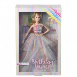 Barbie Birthday Wishes Doll with Rainbow Dress