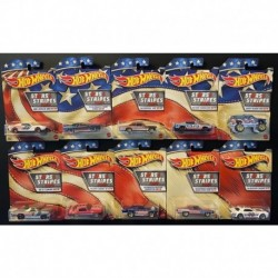 Hot Wheels Stars & Stripes Series Complete Box of 10